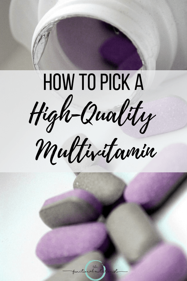 High Quality Multivitamin