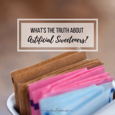 The Truth About Artificial Sweeteners