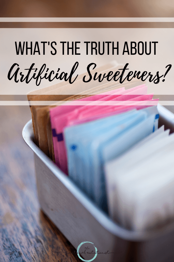 Truth About Artificial sweeteners